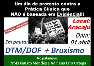aracaju - protesto
